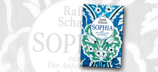 Rafik Schami, Buch, buchcover, sophia