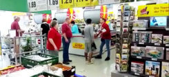 Flüchtling, Rassismus, Sachsen, Supermarkt