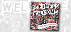Refugees welcome, cd, musik, rassismus, refugess, welcome