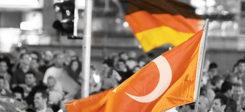 Fahne, Deutschland, Türkei, Public Viewing, Menschen
