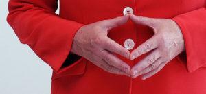 Angela Merkel, hand, raute, bundeskanzlerin