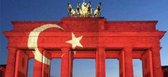 Fahne, Flagge, Türkei, türkische, Brandenburger Tor