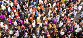 Einwanderung, Menschen, Versammlung, Demonstrattion
