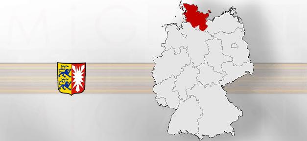 Schleswig-Holstein, Karte, Bundesland, Kiel, Deutschland