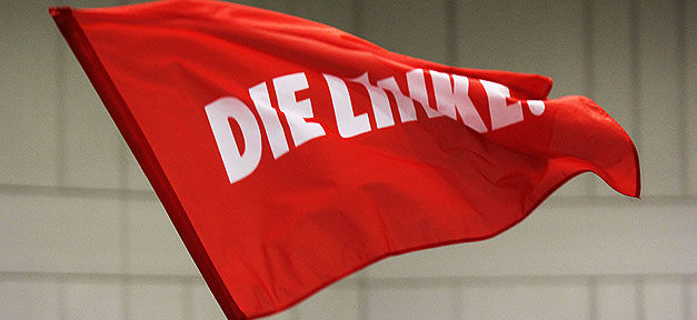 Die Linke, Fahne, Partei, Linkspartei, Linke