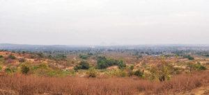 Nigeria, Afrika, Wüste, Land, Steppe