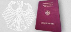 Reisepass, BRD, Bundesrepublik Deutschland, Pass