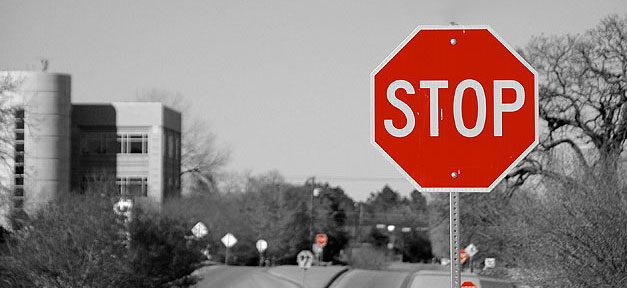 Stop, Stopschild, Stopp, Verkehr, Einwanderung, Grenze