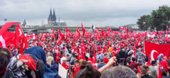 Türken, Türkei, Köln, Demo, Kundgebung, Demonstration