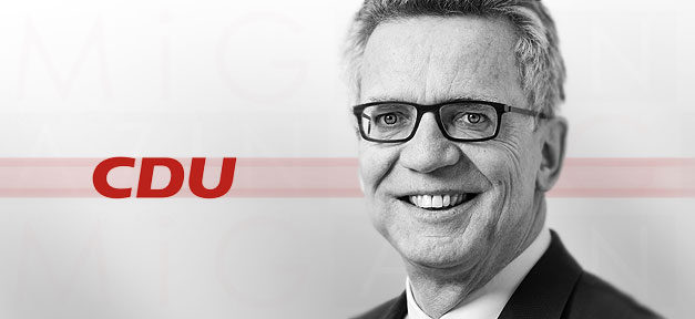 Bundesinnenminister, Thomas de Maizière, Innenminister, CDU