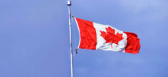 Kanada, Canada, Flagge, Fahne, Einwanderungsland