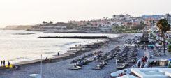 Spanien, Teneriffa, Insel, Strand, Promenade, Urlaub, Meer
