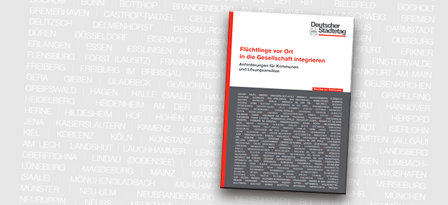 Broschüre, Cover, Städtetag, Integration, Projekte