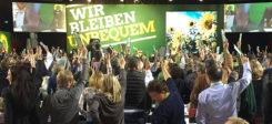 Grüne, Die Grünen, BDK, Bundesdelegiertenkonferenz, Abstimmung