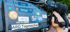 ARD, Tagesschau, Nachrichten, TV, Kamera, Journalist