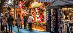 Weihnachten, Weihnachtsmarkt, Menschen, Winter, Christlich