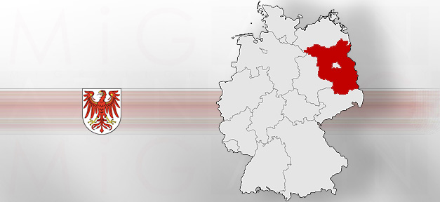 Brandenburg, Karte, Bundesland, Deutschlandkarte