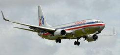 Flugzeug, American Airlines, Amerika, Boeing, Landung