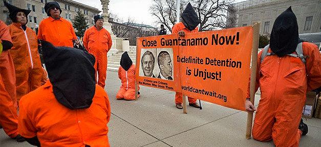 Guantanamo, Demonstration, Demo, Haft, Gefängnis, Folter, Menschenrechte