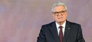 Joachim Gauck, Bundespräsident, Präsident, Gauck, Rede, BRD