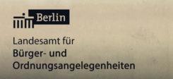 Berlin, Lago, Landesamt, Bürgerangelegenheiten, Ordnungsangelegenheiten