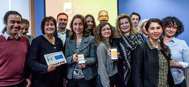 handbookgermany, Aydan Özoguz, Flüchtlinge, Internet, Online