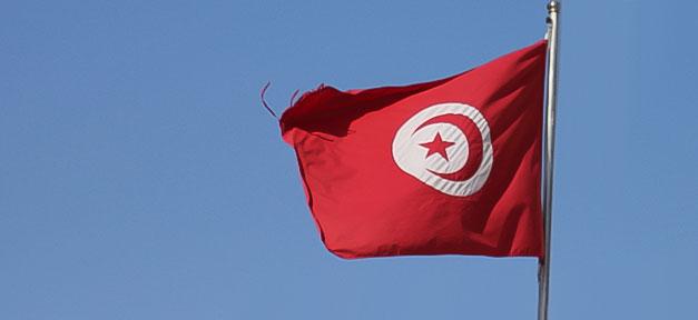 Tunesien flagge fahne