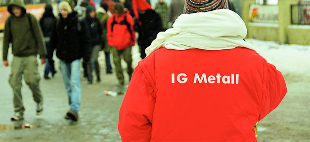 IG Metall, Gewerkschaft, Arbeiter, Arbeitnehmer