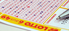 Lotto, Lotterie, Los, Glück, 6 aus 49, Samstagslotto