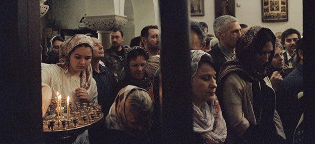 Russisch, Orthodox, Gottesdienst, Russen, Religion, Kirche