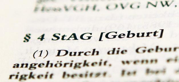 StAG, Staatsangehörigkeitsgesetz, Gesetz, Einbürgerung, Optionspflicht, Doppelpass, Staatsbürgerschaft
