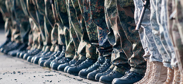 Bundeswehr, Soldat, Uniform, Deutschland, Stiefel, Schuhe