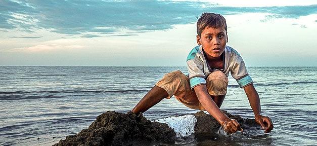 Meer, Kind, Flüchtling, Wasser, Strand, Flucht, Not, Hilfe