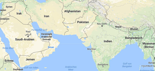 Indien, India, Pakistan, Border, Grenze, Weltkarte, Landkarte
