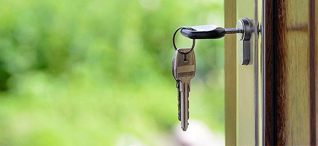 Schlüssel, Haus, Wohnung, Schloss, Miete, Eigentum