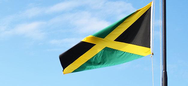 Flagge, Jamaika, Fahne, Land, Nation