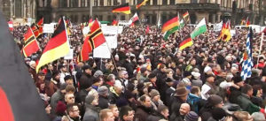 pegida, demo, demonstration, dresden, gegendemo, rechtsextremismus