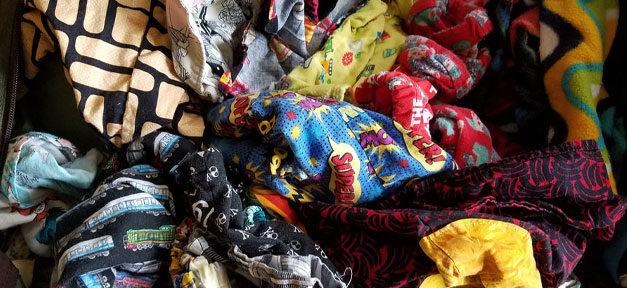 Stoff, Kleider, Altkleider, Müll, Second-Hand, Afrika
