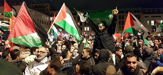 Demonstration, Israel, USA, Jerusalem, Palästina, Hauptstadt