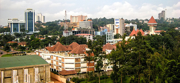 Kampala, Uganda, Stadt, Afrika