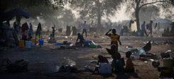 Flüchtlingslager, Flüchtlinge, Südsudan, Afrika, Krieg