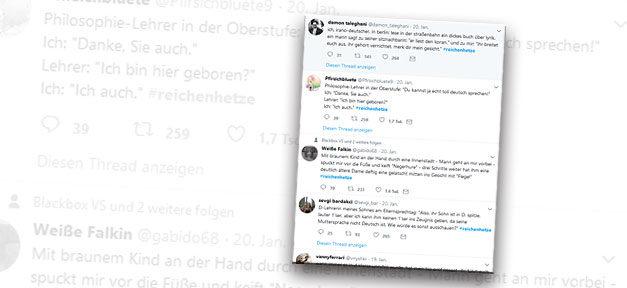 Reichenhetze, Twitter, Rassismus, Hashtag, Sebastian Kurz