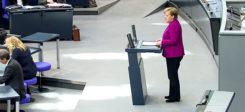 Angela Merkel, Bundestag, Rede, Bundeskanzlerin