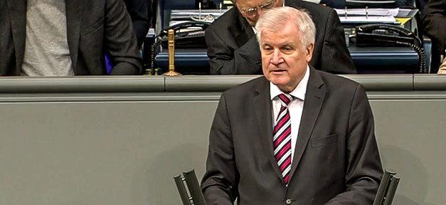 Horst Seehofer, CSU, Innenminister, Bundesinnenminister, BMI, Bundestag