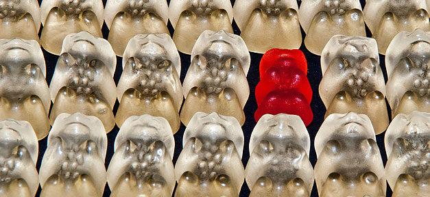 Gummibärchen, Süßigkeiten, Diskriminierung, Vielfalt, Multikulti
