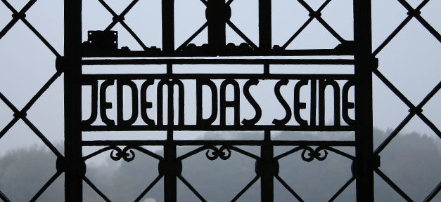 Konzentrationslager, Jedem das Seine, KZ, NS, Nationalsozialismus, Juden, Holocaust