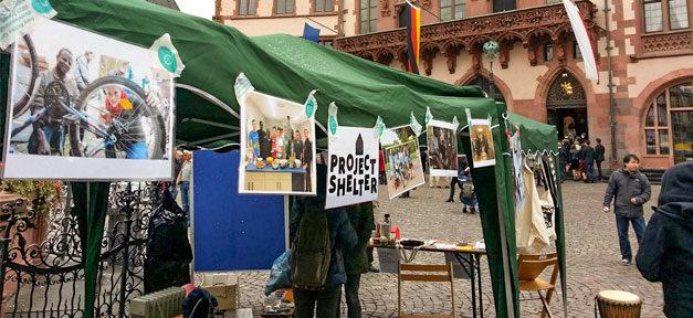 Project Shelter, Flüchtlinge, Asyl, Frankfurt a.M., Obdachloskeit