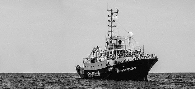Sea-Watch, Rettungsschiff, Mittelmmer, Flüchtlinge, Geflüchtete, Hilfe
