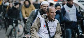 Imame, Rabbiner, Religion, meet2respect, Fahrrad