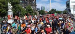 Demonstration, Flüchltinge, Flüchtlingspolitik, Lifeline, Mittelmeer